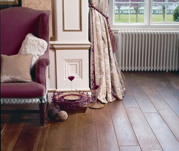 Деревянные полы делают дом особенно уютным