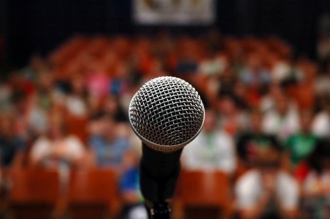 Первая речь и первое публичное выступление - самое сложное. Последующие будут даваться легче