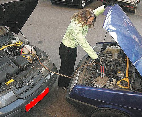 Как завести автомобиль с АКПП