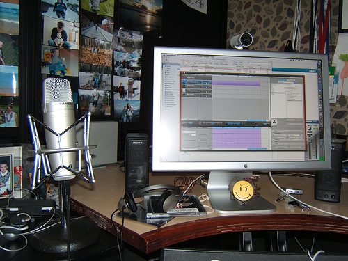 How to record songs at home