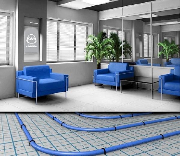 Подпольное отопление это комфорт и тепло. в твоем доме