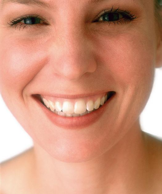 Прекрасная улыбка дюже главна