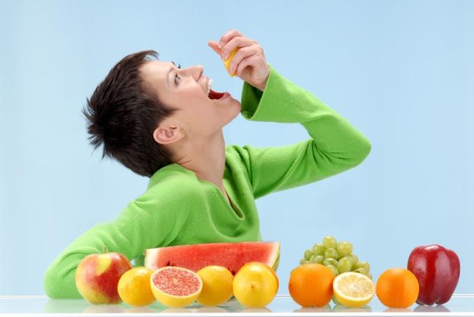 Ешьте больше свежих овощей и фруктов