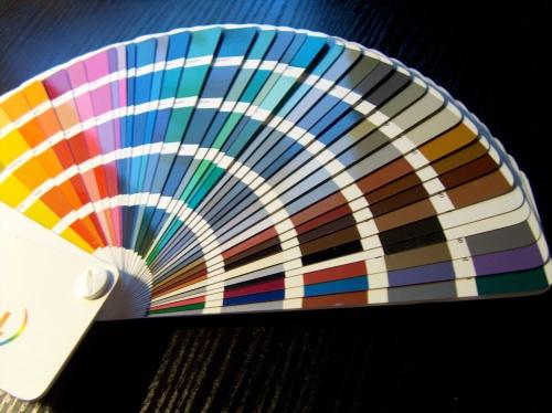 Цветовой веер - палетка