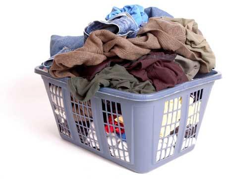 Одежду нужно правильно сортировать
