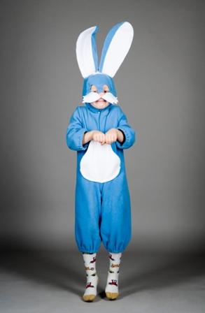 Как сделать костюм зайчика