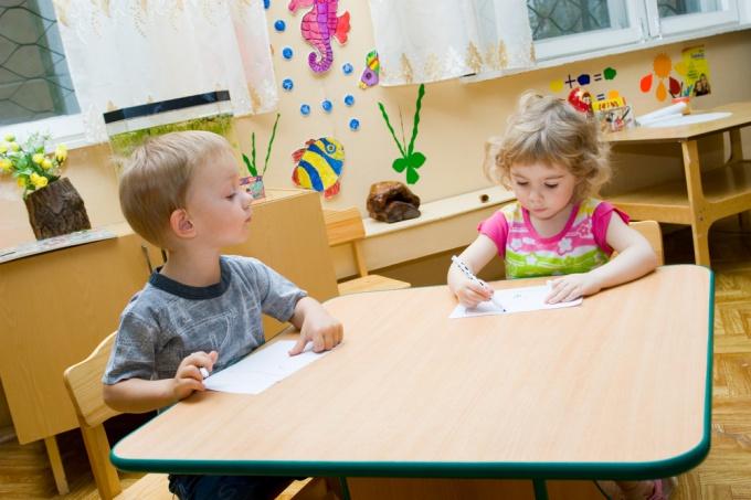 How to make a corner in kindergarten