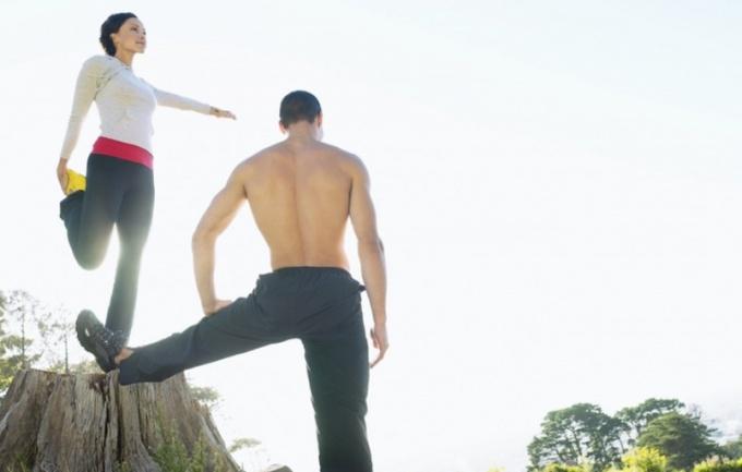 Упражнения на ноги - важная часть утренней зарядки