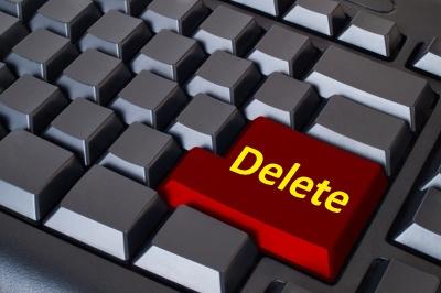 Удалить блог можно за несколько секунд