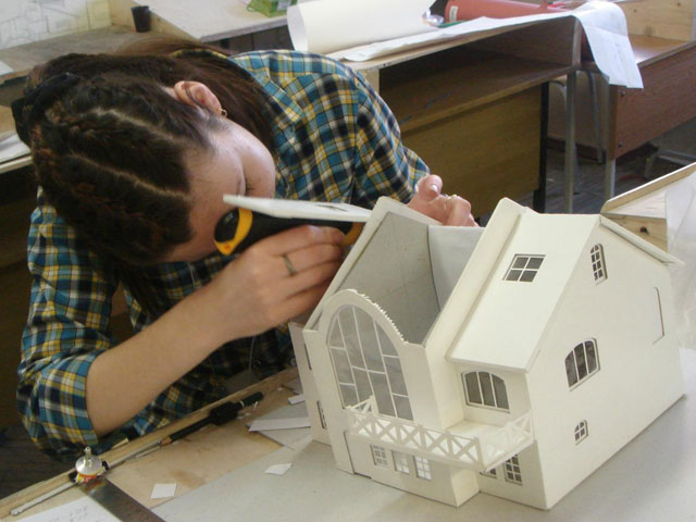 How to make a model of the house