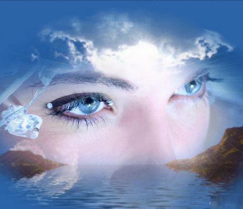 Глаза могут рассказать все о человеке