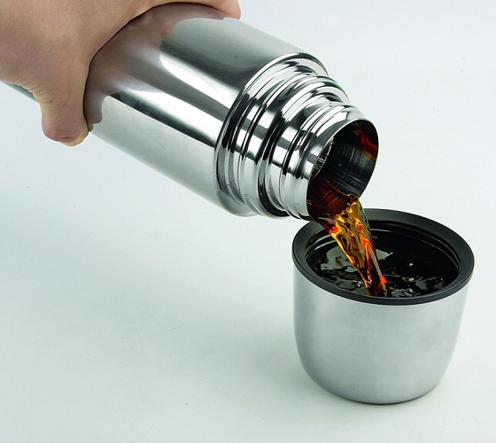 Thermos is perfect for preparation of various herbal and fruit infusions