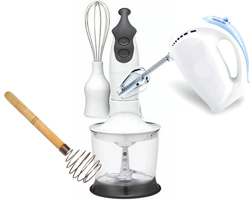 Tools for whipping cream