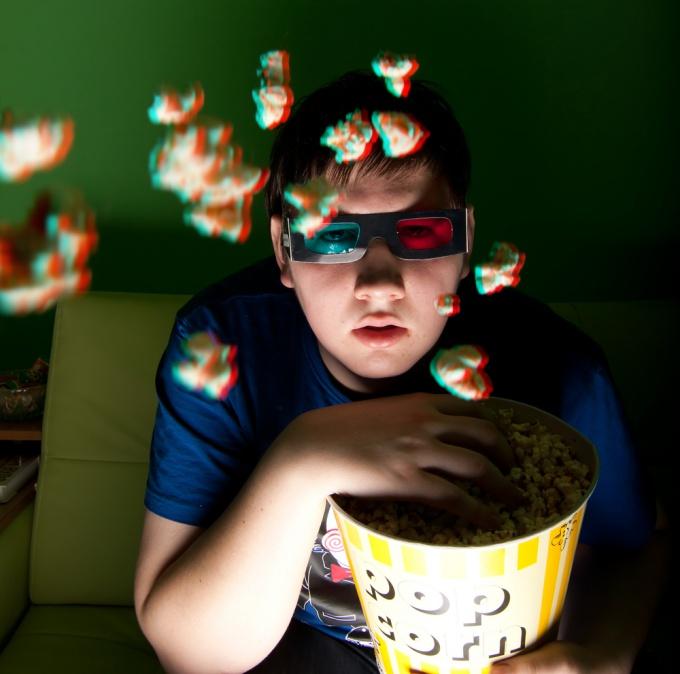 Как смотреть 3d фильмы в очках