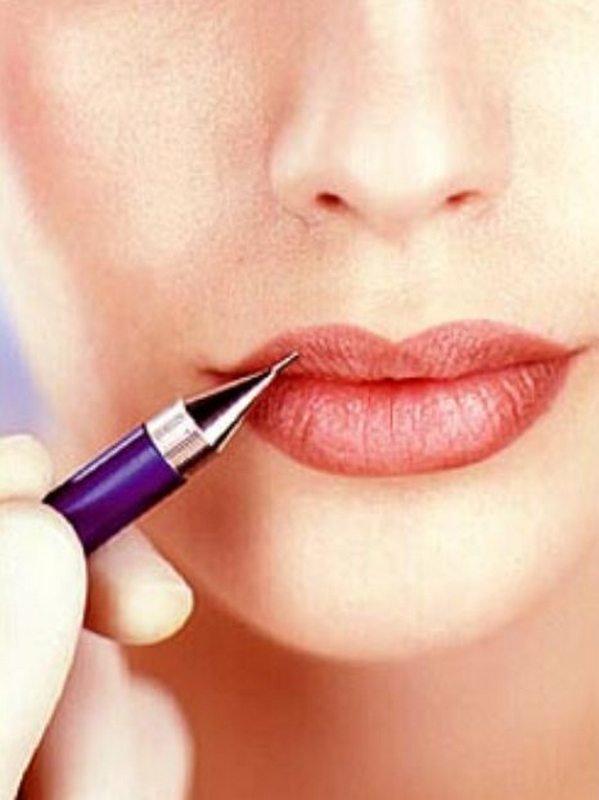 Как рисовать рот