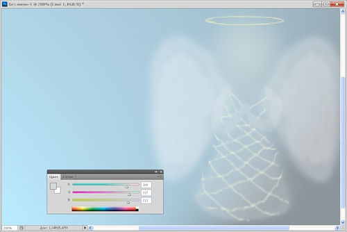 Как нарисовать ангелочка