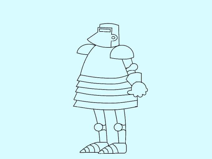 Как нарисовать <strong>рыцаря</strong>