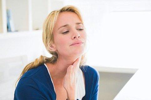 Тонзиллит вызывает увеличение лимфоузлов