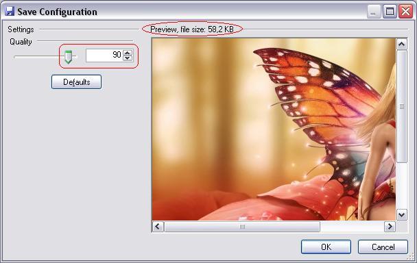 Program to compress photos