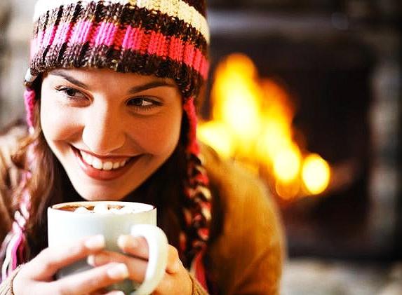 Горячие напитки помогут вам сохранить тепло и согреться в мороз