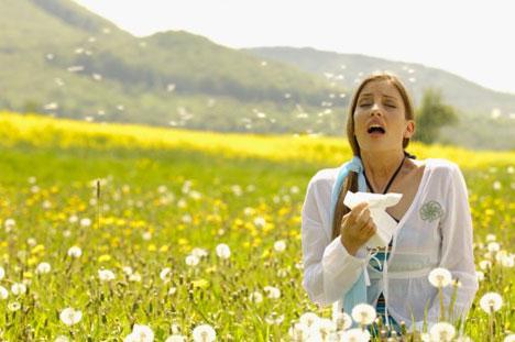 Аллергию могут вызывать растения и животные, продукты питания, пыль и даже обыкновенная вода