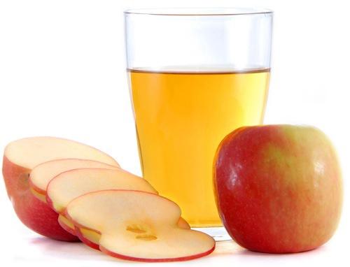 Для изготовления сока яблоки нужны спелые.