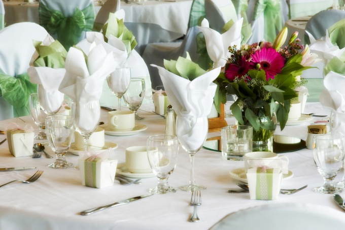 How to prepare a beautiful table