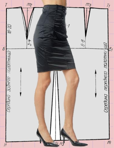 Как сделать юбку