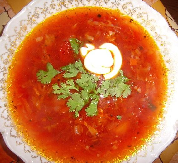 Борщ – первое блюдо, одно из самых популярных на нашем столе