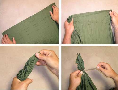 Как сделать гамак