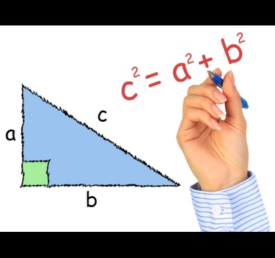 How to find the third side in a right triangle