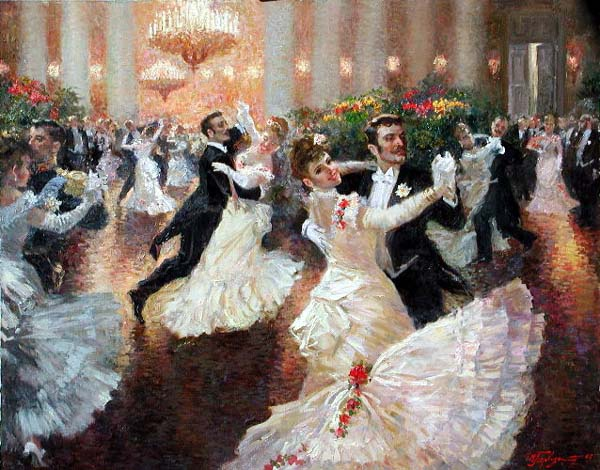 How to learn to waltz