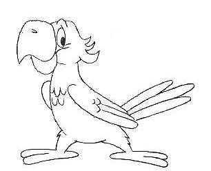 Как нарисовать <strong>попугая</strong>