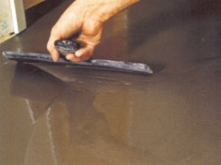 Как сделать наливные полы