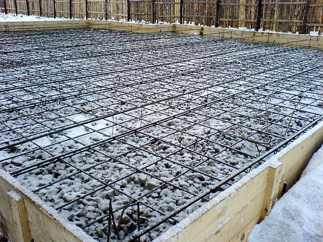 Заливка монолитной плиты фундамента своими руками