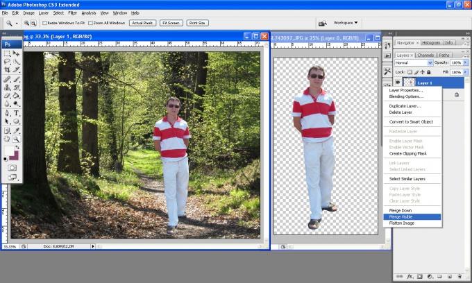 Важно помнить, что каждая картинка – это отдельный слой