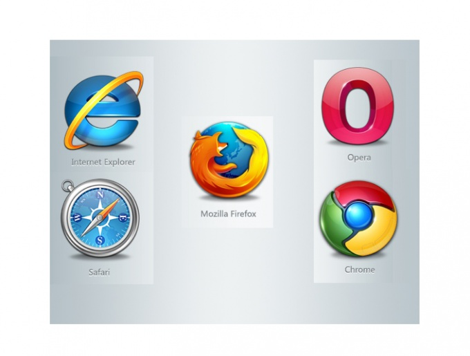 Each browser has its own settings window