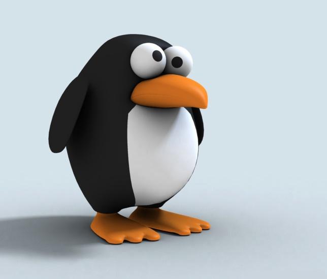 Как сшить пингвина