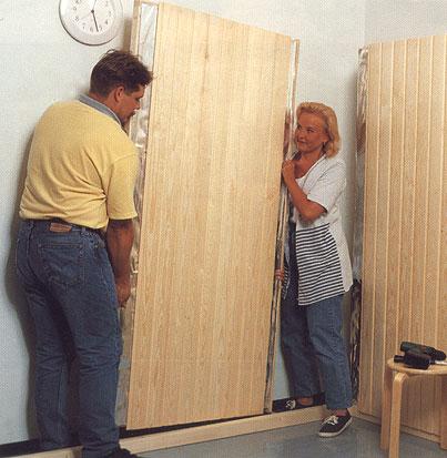 How to make a sauna
