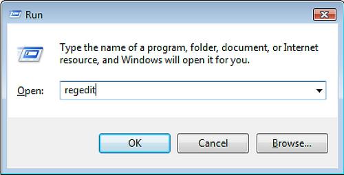 Редактировать реестр следует лишь после создания его резервной копии