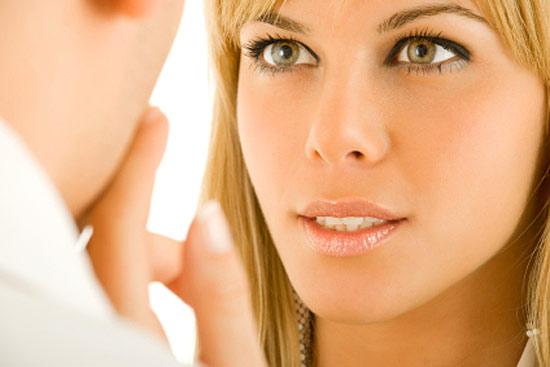 Как смотреть человеку в глаза
