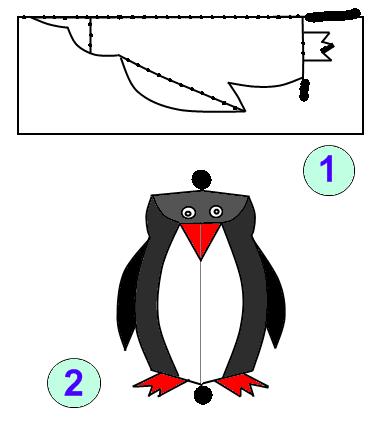 Как сделать <strong>пингвина</strong>