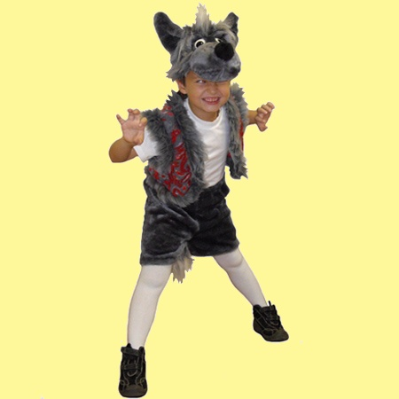 How to make a wolf mask