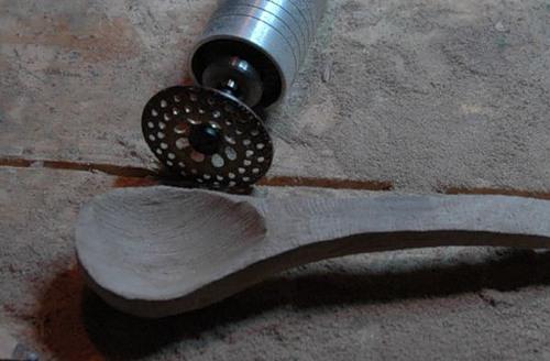 Как сделать ложку