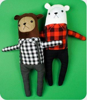 Главное -  делать медведя с любовью, тогда игрушка получится действительно красивой