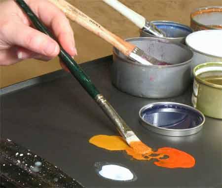 Как сделать в домашних условиях краску для одежды