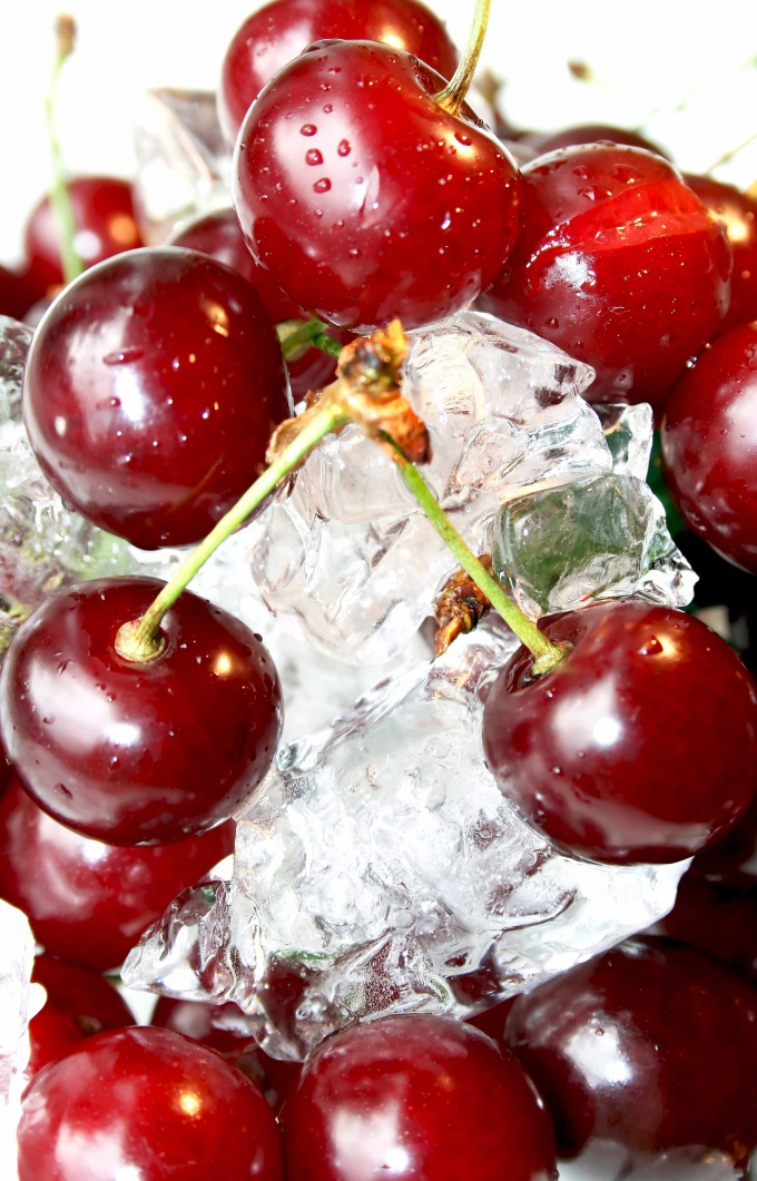 Cherry - a great filler for a milkshake