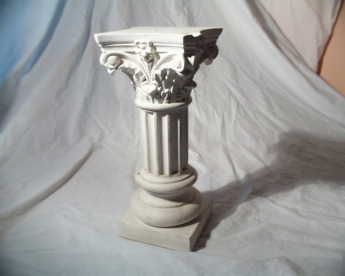 For casting plaster is necessary to produce a form