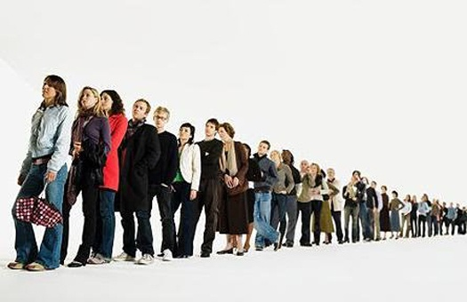 How to stand in a queue on improvement of living conditions