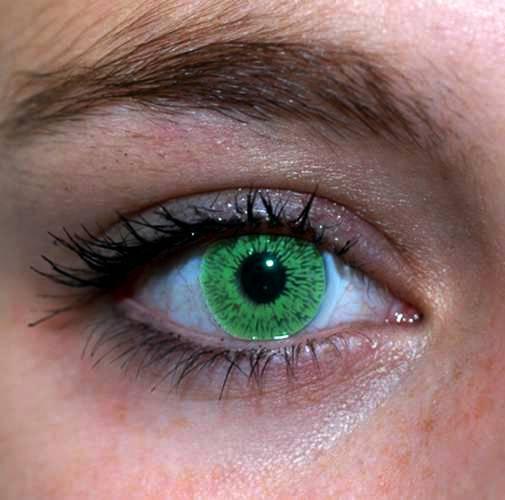 Зеленые глаза - загадочные и прекрасные